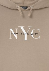 New Look 915 Generation - NYC MUSHROOM LOGO HOODY - Sweater - light brown - 2