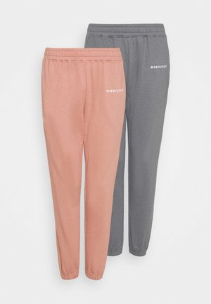 BASIC 2 PACK - Tracksuit bottoms - multi