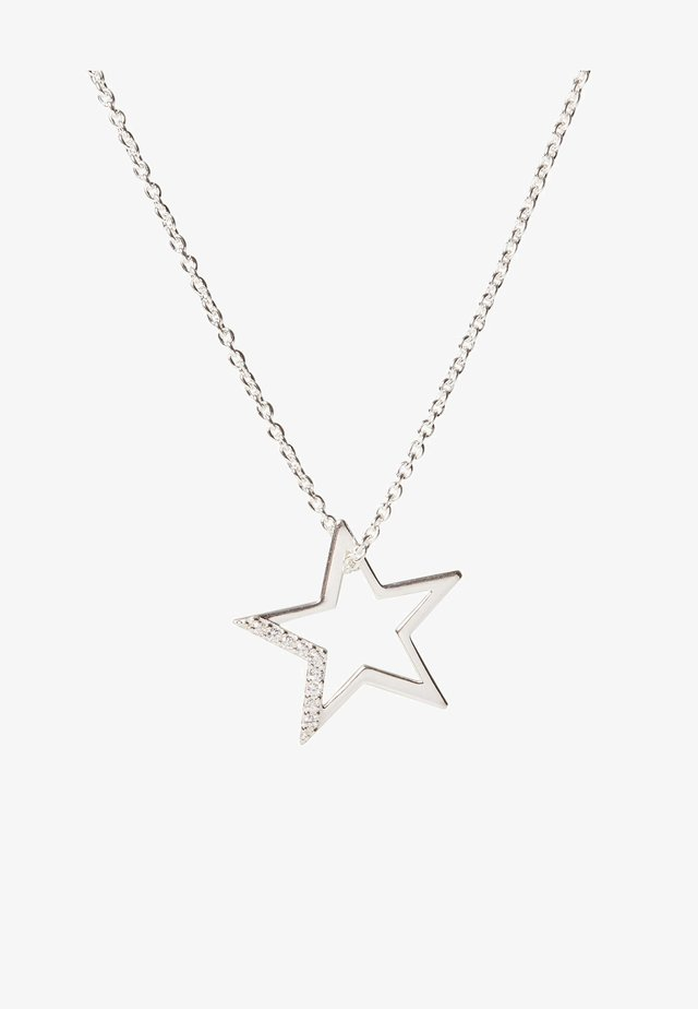STAR  - Necklace - silver