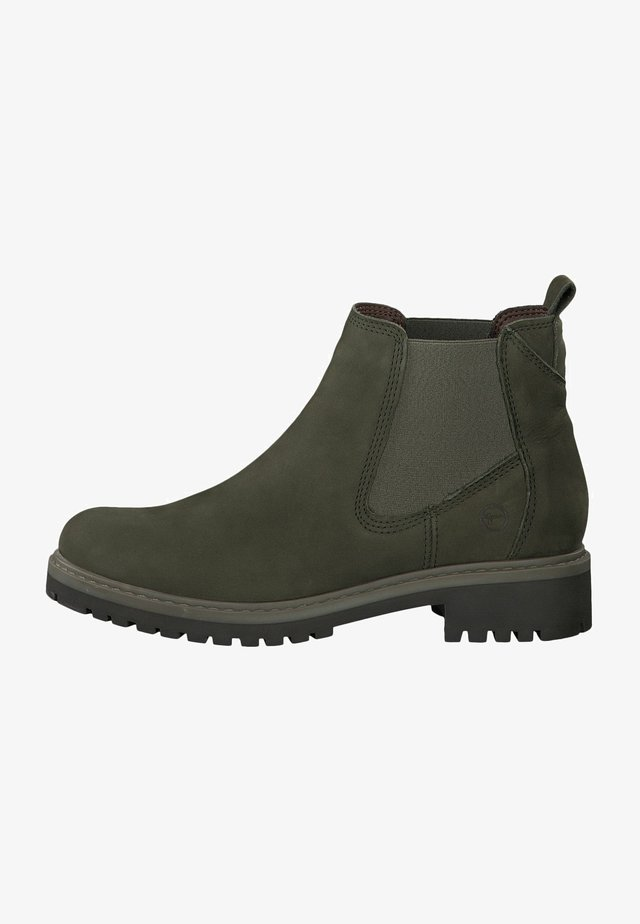 CHELSEA  - Lace-up ankle boots - olive