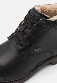 Bugatti - ALVARO EVO TEX - Lace-up ankle boots - black - 5