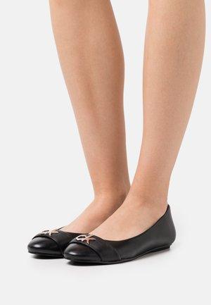 ROUND  - Ballet pumps - black