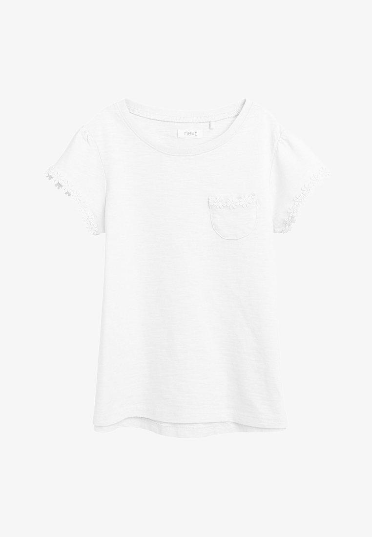 Next - DAISY  - Print T-shirt - white