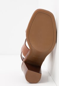 ALDO - FIELIA - High heeled sandals - cognac - 6