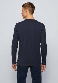 BOSS - TCHARK - Long sleeved top - dark blue - 2
