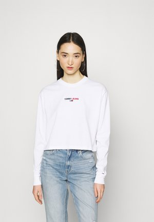 BADGE LONGSLEEVE - Longsleeve - white