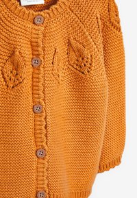 Next - POINTELLE DETAIL - Vest - yellow - 2