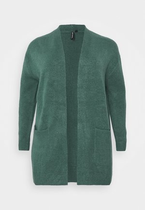 COSY EDGE TO EDGE CARDIGAN - Cardigan - deep teal