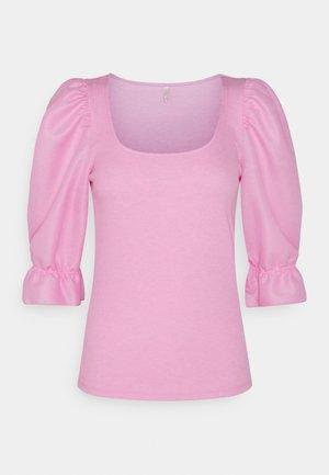 ONLMILA MIX PUFF - T-shirt print - lilac sachet
