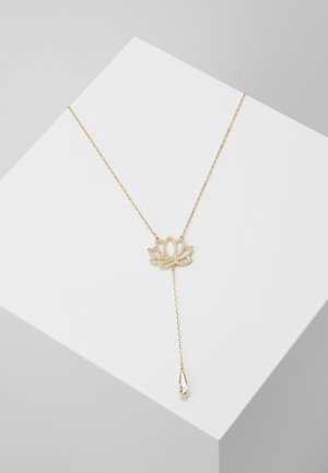 SYMBOL NECKLACE LOTUS - Halskæder - gold-coloured