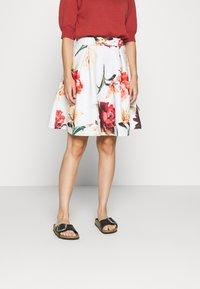 Anna Field Petite - Mini skirt - white - 0