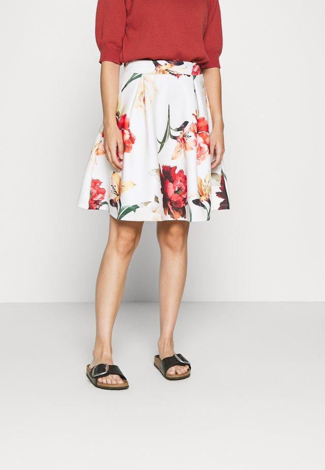 Minifalda - white