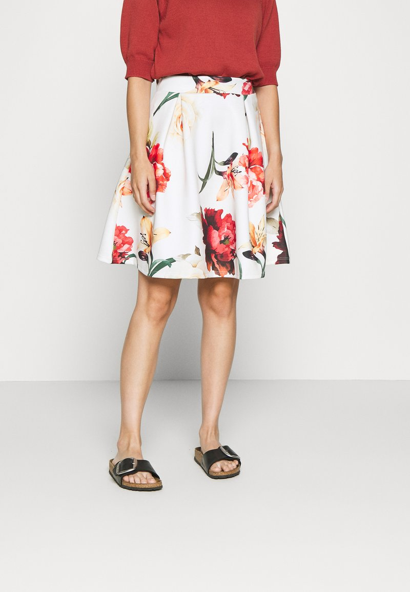 Anna Field Petite - Mini skirt - white