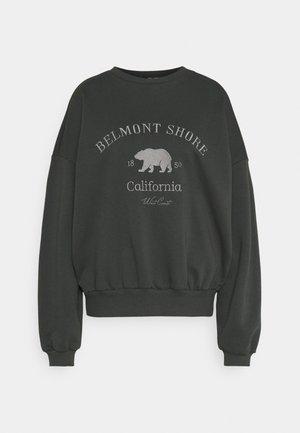 OVERSIZE EXPRESSION - Sweatshirt - offblack