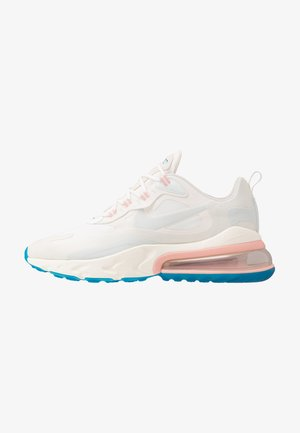 AIR MAX 270 REACT - Baskets basses - summit white/ghost aqua/phantom/coral stardust/imperial blue/light bone