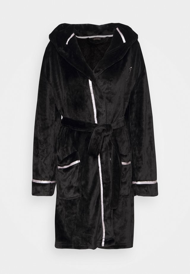 BUNNY ROBE - Dressing gown - black