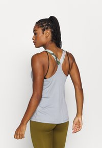 Nike Performance - TANK - Sports shirt - particle grey/black - 2