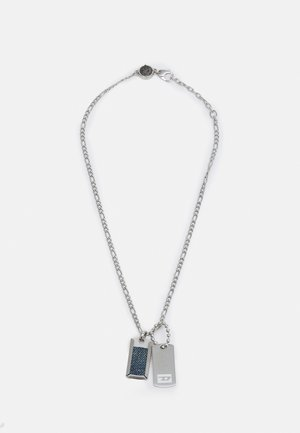 DOUBLE DOGTAGS - Collar - silver-coloured