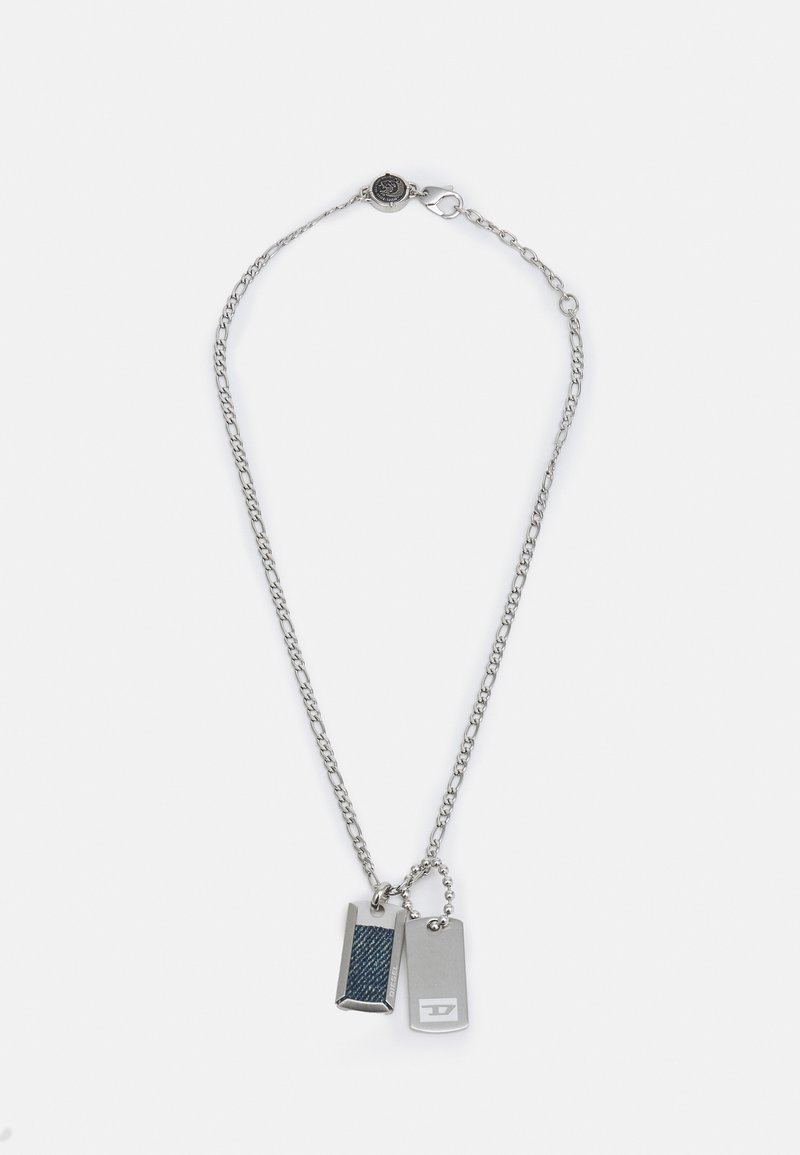 Diesel - DOUBLE DOGTAGS - Ketting - silver-coloured