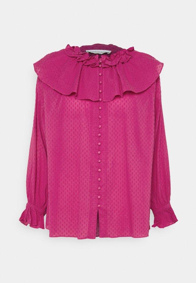 MAY - Blůza - bergonia pink