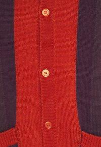 Obey Clothing - ARCHER - Chaqueta de punto - chili multi - 2