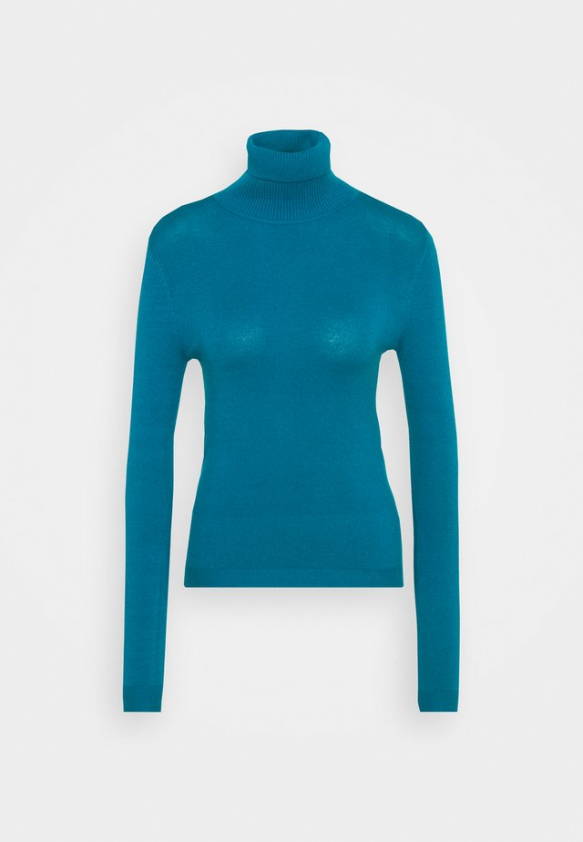 VMHAPPINESS ROLLNECK   - Jumper - mykonos blue