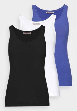 3 PACK - Topper - black/white/light blue