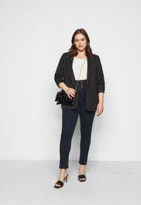 Simply Be - SHAPE SCULPT SUPER HIGH WAIST  - Jeans Skinny Fit - dark indigo - 1