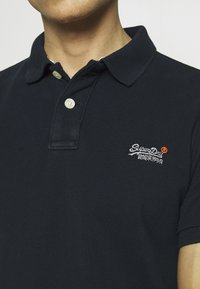 Superdry - CLASSIC  - Polo shirt - eclipse navy - 5