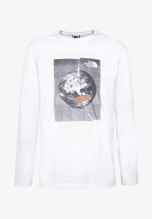 MENS GRAPHIC TEE - Long sleeved top - white