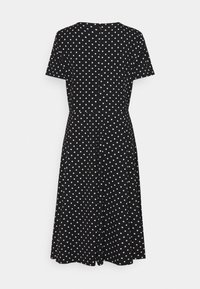 Lauren Ralph Lauren - PRINTED TECH DRESS - Day dress - black - 6
