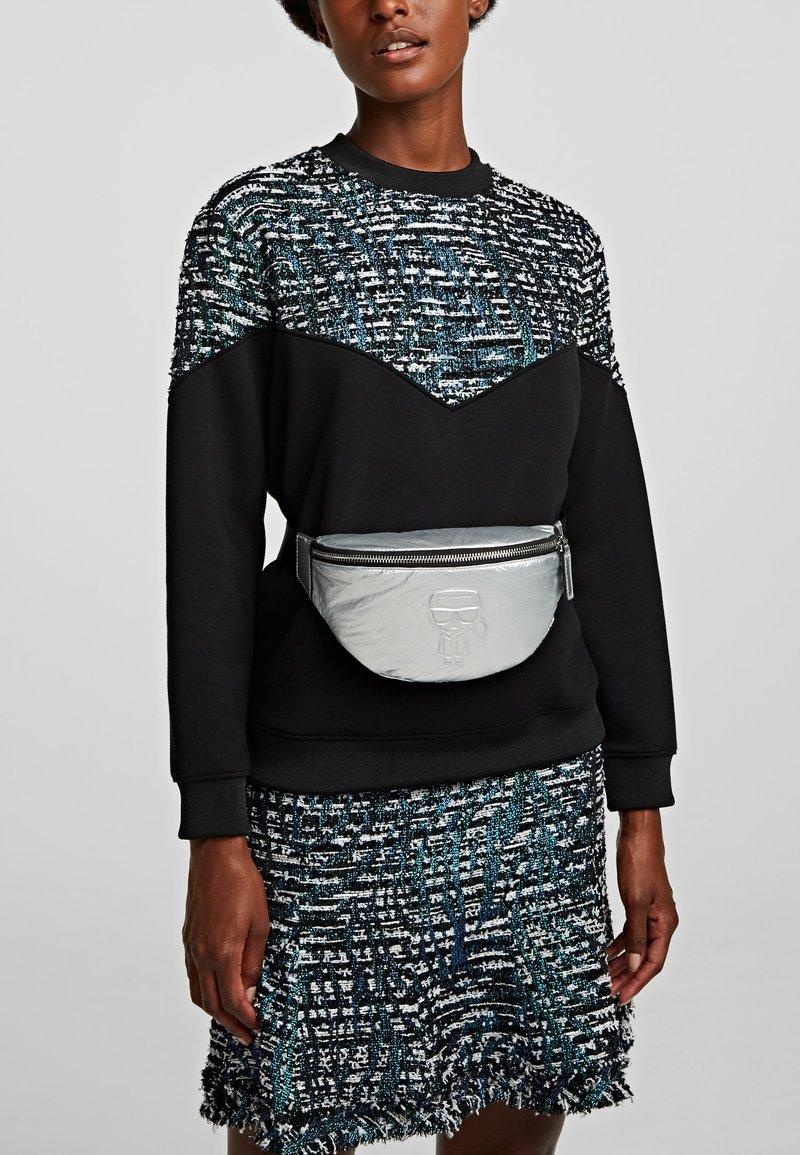 KARL LAGERFELD - Bum bag - silver