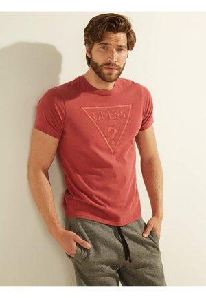 TRIANGLE - T-shirt imprimé - rouge