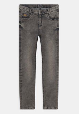 BOYS ULTRASTRETCH - Jeans straight leg - black light