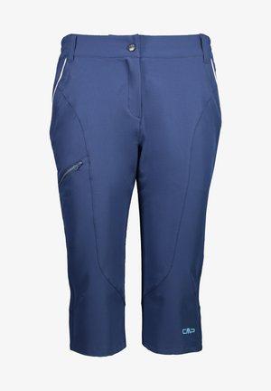 FREE BIKE CAPRI - 3/4 sports trousers - blue