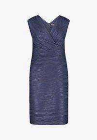 Vera Mont - MIT GLANZEFFEKT - Cocktail dress / Party dress - dunkelblau - 2
