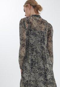 ICHI - IHASSIP DR - Shirt dress - oxford tan - 2