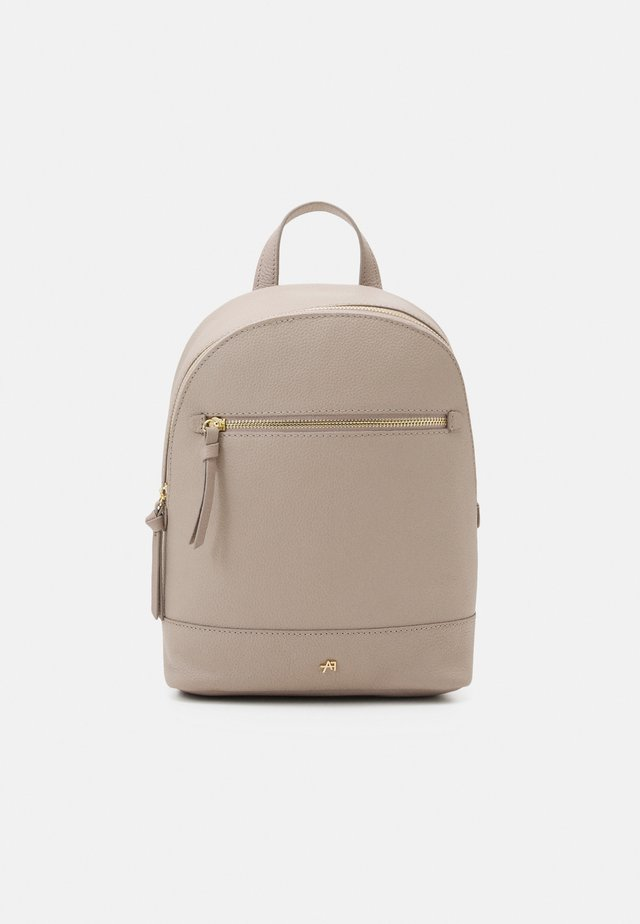 LEATHER - Rucksack - taupe