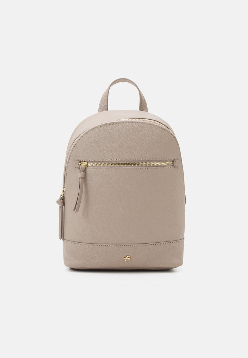Anna Field - LEATHER - Rucksack - taupe