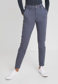 Selected Femme - SLFMEGAN - Chinos - ombre blue - 0