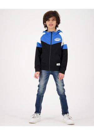 OLEG - Zip-up sweatshirt - deep black