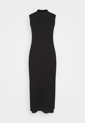 LORENE DRESS SCALE - Strikket kjole - black dark