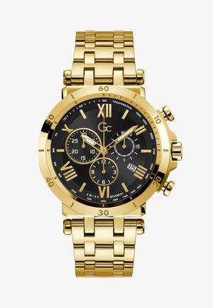 Chronograph watch - yellow gold