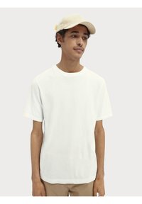 Scotch & Soda - Basic T-shirt - off-white - 0