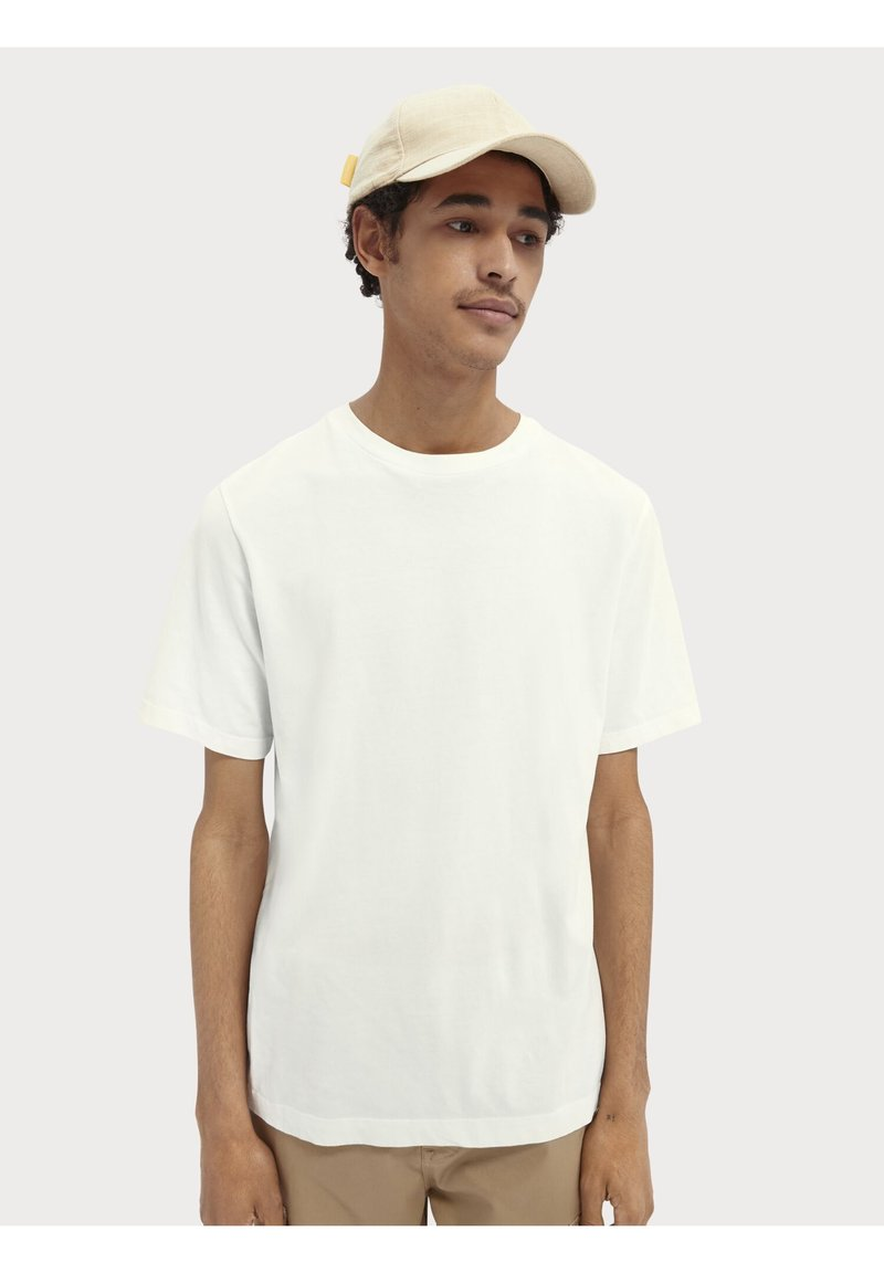 Scotch & Soda - Basic T-shirt - off-white