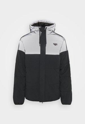 ADAM PADDED COAT HOOD - Winter jacket - black