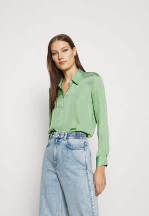 DILLON SOFT  - Button-down blouse - sage