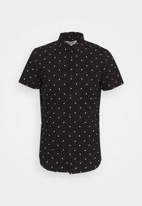 PRINTED SHORT SLEEVE  - Skjorta - black