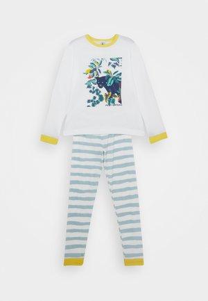 LIBRARY PYJAMA - Pyjama set - marshmallow/crystal