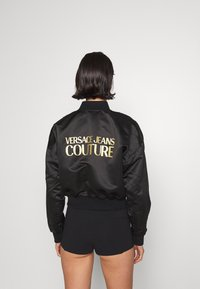 Versace Jeans Couture - OUTERWEAR - Bomber Jacket - black/gold - 4